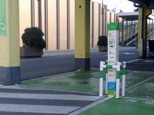 Instalacion de Estaciones de carga coche electrico